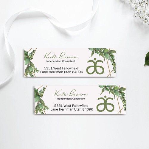 Personalized Arbonne Address Label Return Address Label Ab22 In 2020 Arbonne Business Cards Return Address Labels Mailing Labels