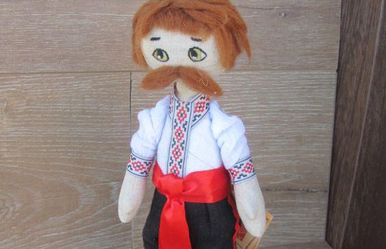 Ukrainian doll Rag doll Cloth doll Textile doll by GabYhandmade
