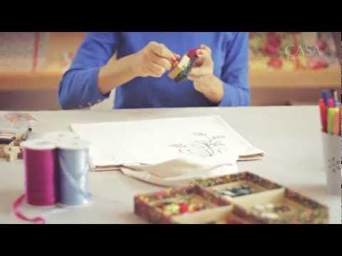 Aprenda a customizar uma sacola