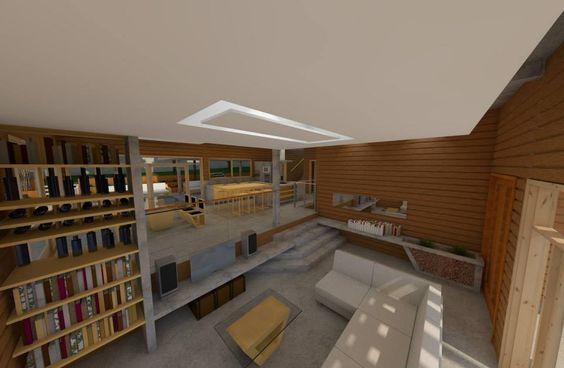 sala, jantar e cozinha integrados