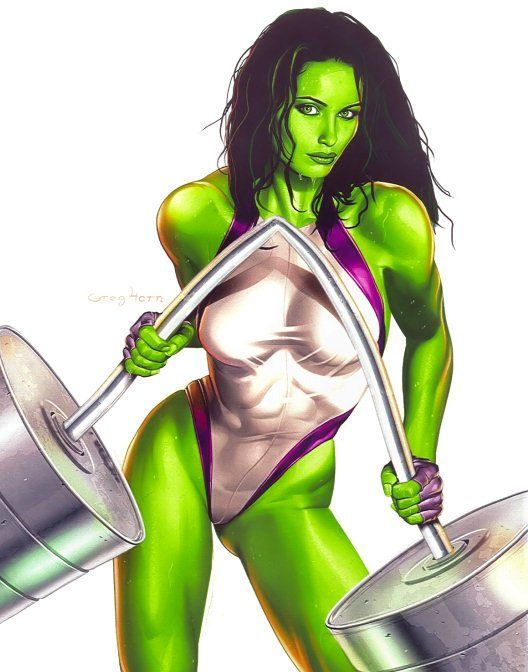 sexy she hulk | ... Hulk , is she's smart! And, of course, well, she ...