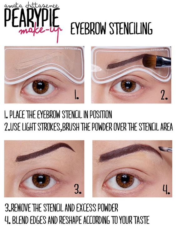 Pearypie's Tips&Tricks-All about eyebrows!