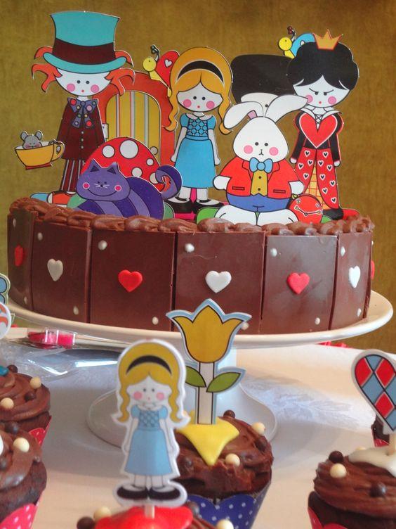 Aniversário 6 anos - Alice no país das maravilhas/2013