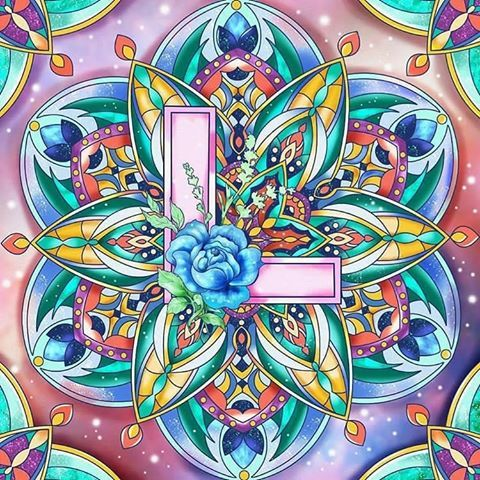 Babsy S Colourmanic Instagram Photos And Videos Colorful Artwork Coloring Book App Mandala Coloring