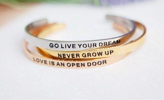Disney Quote Bracelets Add Inspiration