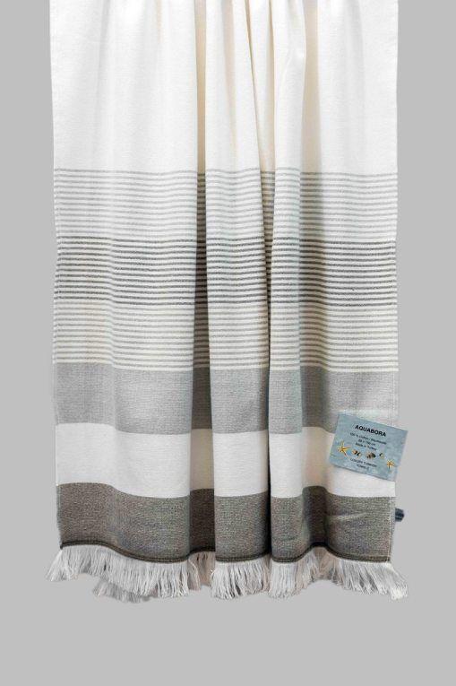Grey Bahama Turkish Towel Turkish Towels Coffee Table Cover Towel