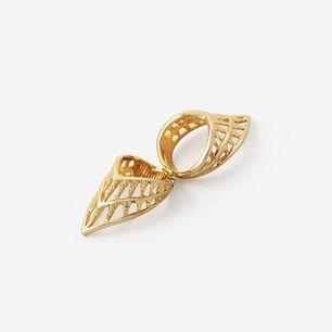 Filigree Spoke Knuckle Ring by ISHARYA Jewelry
