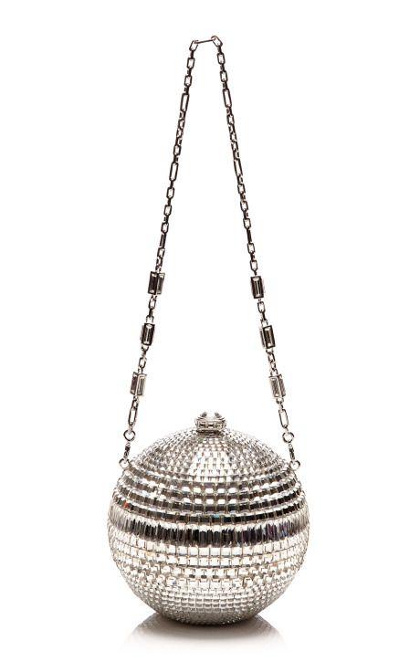 Judith Leiber Disco Ball Evening Bag by Judith Leiber for Preorder on Moda Operandi