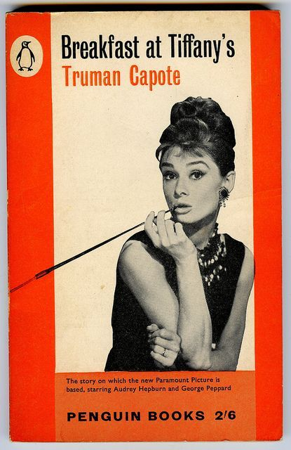 Resultado de imagen de breakfast at tiffany's book cover