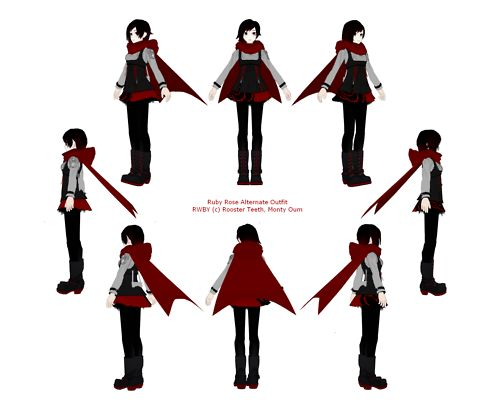 Difference Between Concept Art And Character Design : Rwby reference tumblr cosplays pinterest