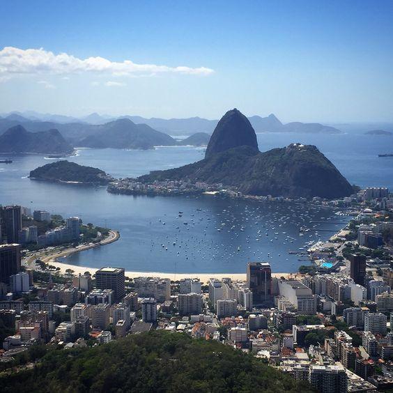 View of Pão de Açucar, Rio de Janeiro
