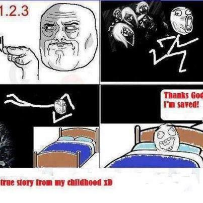 This is true when u need to use the bathroom at night