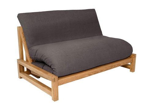 Linear 2 Seater Solid Oak Double Sofa Bed Sofa Bed Sale Sofa