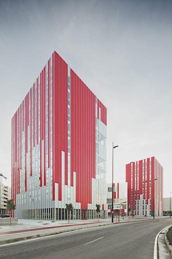 University Housing, Gandia / Guallart Architects (5)