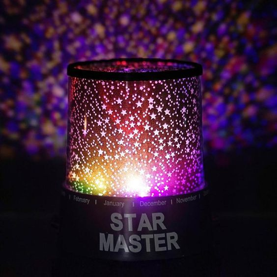 Color Changing Sky Projector Night Lamp Color Changing Led Submersible Led Lights Romantic Colors