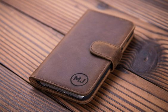 IPhone 6 Wallet Case Iphone 6 Leder Geschenk Iphone 6 s RS Monogramm Iphone 6 zuzüglich RS Iphone 6 s zuzüglich RS Iphone case Iphone 5 s Fall