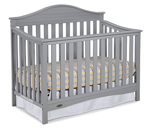 Graco Maddox Convertible Crib White Gray