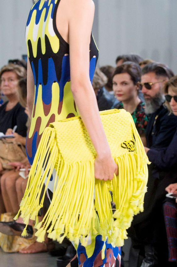 The reign of tassels: Handbags