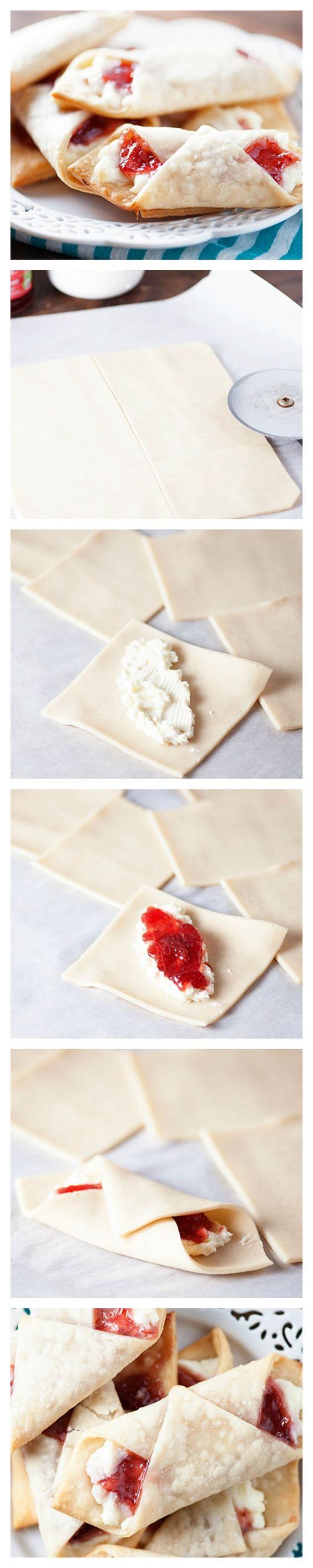 Strawberry Cream Cheese Mini Wraps | Recipe | Pepper jelly ...