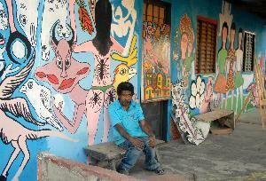 Moacir Soares   artista naif da Vila de São Jorge