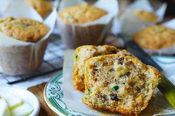 The Shipyard Galley's Zucchini Muffins Recipe