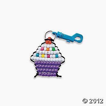 Cupcake bead craft-really want to make!