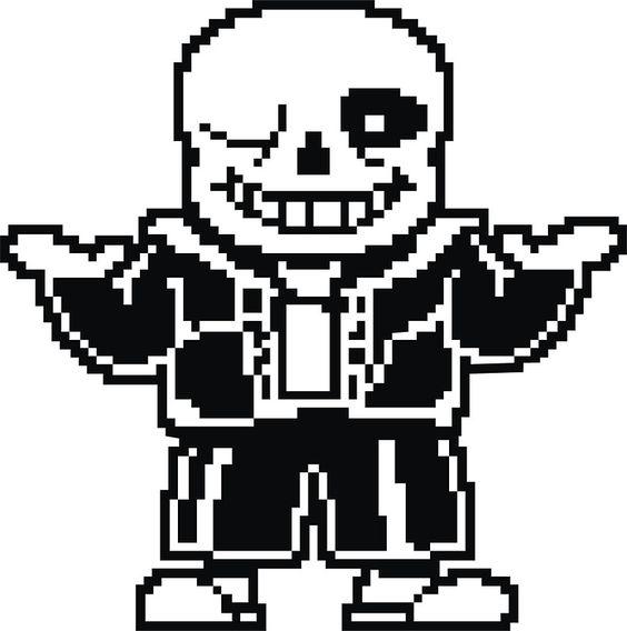 Undertale Papyrus Sticker By Gregozy Undertale Pixel Art Pixel Characters