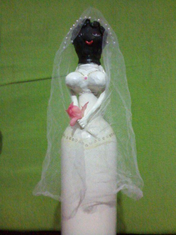 Noiva de garrafa