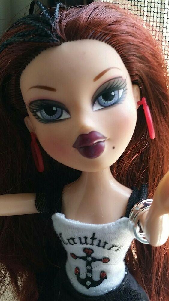 Bratz Doll 10 Tall Dark Red Hair Vguc Mgabratz Bratz Doll Dark Red Hair Dark Red