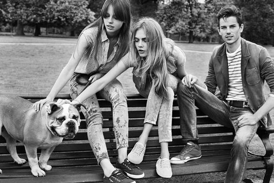 CARA DELEVINGNE FOR PEPE JEANS S/S 2013