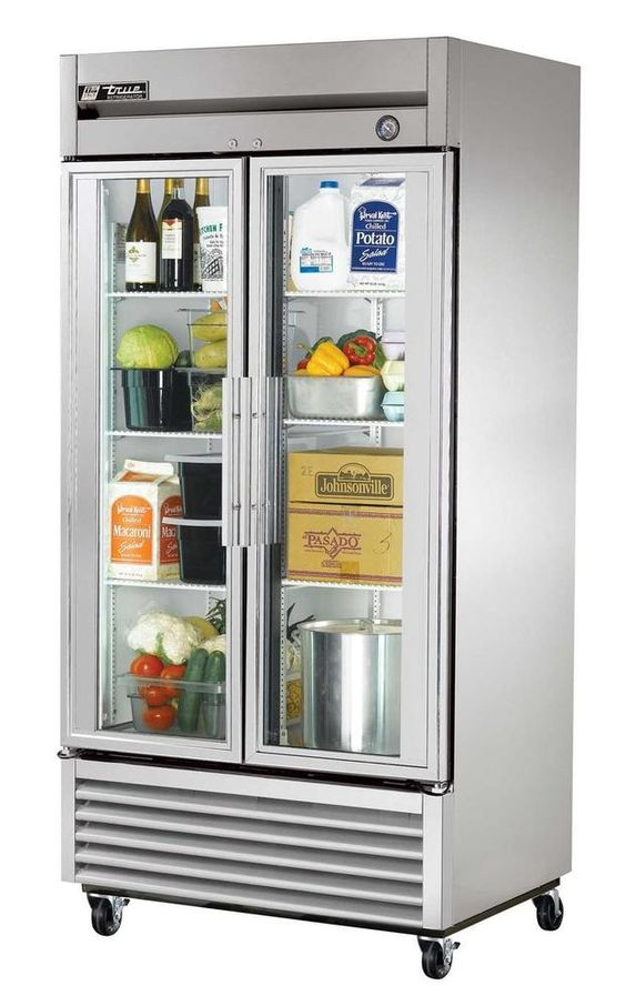 TRUE 35 CU. FT. REACH IN REFRIGERATOR WITH GLASS DOOR - T-35G #True