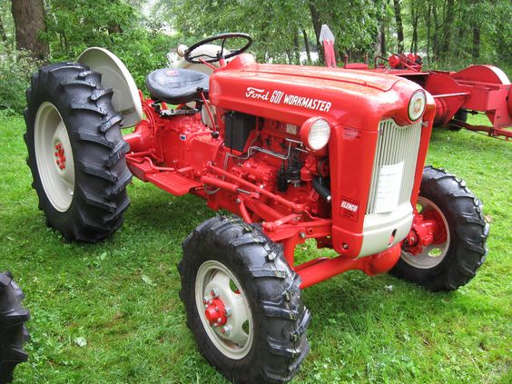 Ford 641 Workmaster Tractor : Ford tractor description workmaster with