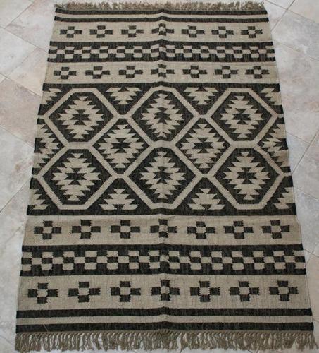 Black And White Rug Ebay Uk: Kilim Rug - SARLA In Black & White