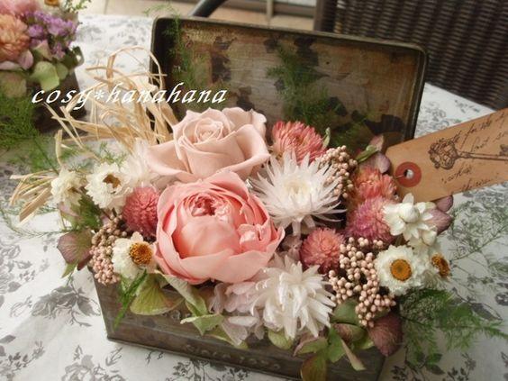 ブリキbox「Heartful Garden」タグ