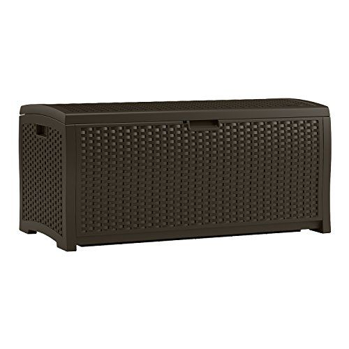 Discounted Keter Westwood Plastic Deck Storage Container Box