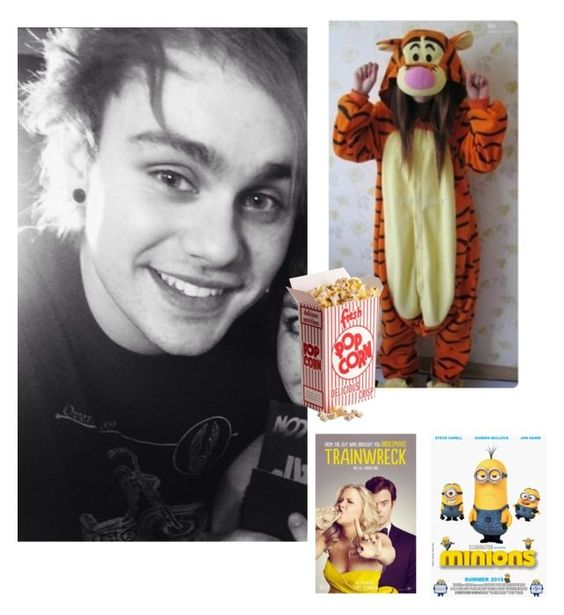 """""""Movie date"""" by lexi54525sos ❤ liked on Polyvore"""
