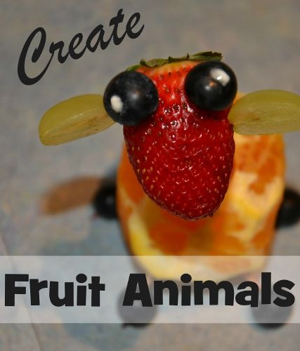 Food Fun: Create Fruit Animals from Wildlife Fun 4 Kids