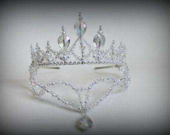 Perlen und klarem Kristall AB und Green von CreativeCalling1
