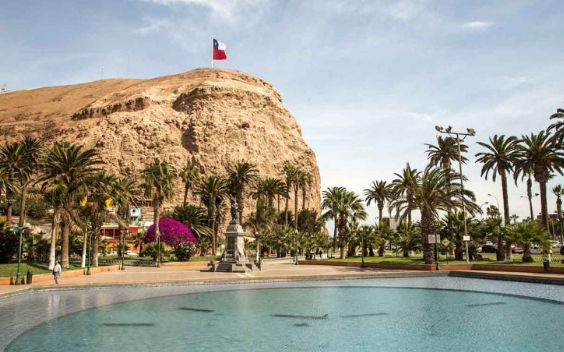 Arica is the richest city of Northern Chile