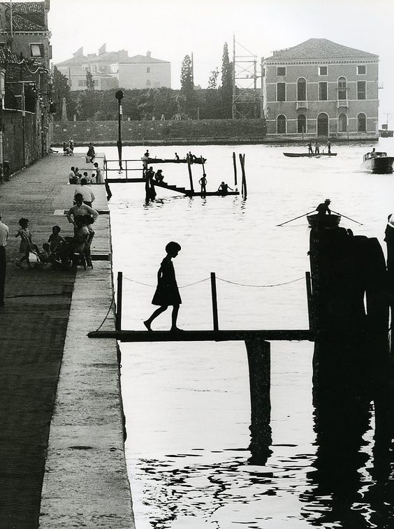 Willy Ronis - Venise, Fondamenta Nueva, 1959