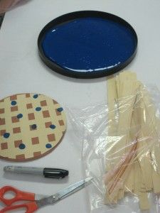 crafts ideas with paper we made blueberry pie in preschool crafts activities and we 4149