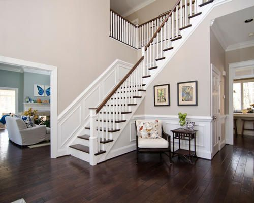 Two Story Foyer Decor : Two story foyer entry design molding