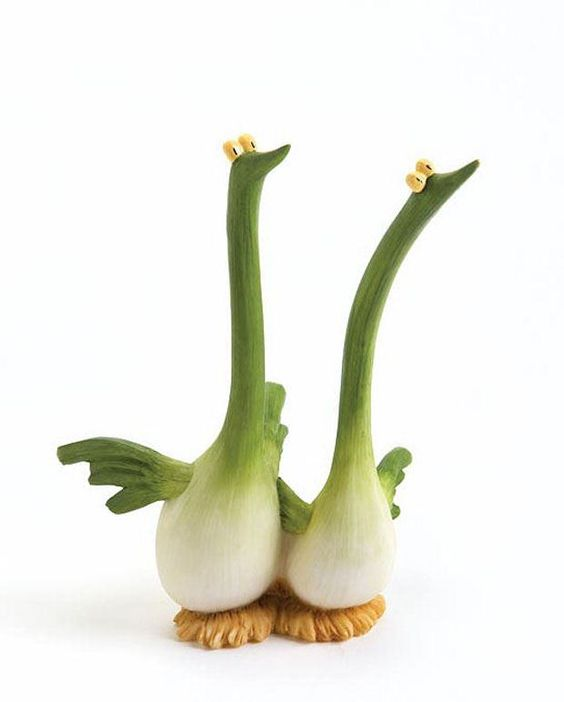 Green onion geese:
