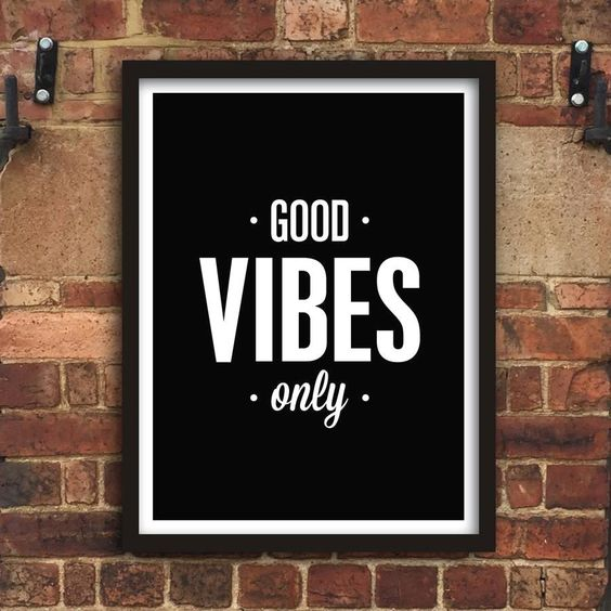 Good Vibes Only http://www.amazon.com/dp/B01708FIOC  motivational poster word art print black white inspirational quote motivationmonday quote of the day motivated type swiss wisdom happy fitspo inspirational quote