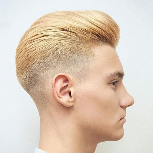 40 Best Blonde Hairstyles For Men 2020 Guide Taper Fade Haircut Tapered Hair Fade Haircut
