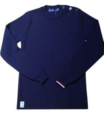 Le pull'ouvert tricoté en Bretagne Bleu, Rue de l'Aqueduc 73-75, 1050 Bruxelles. www.facebook.com/bleu.bruxelles