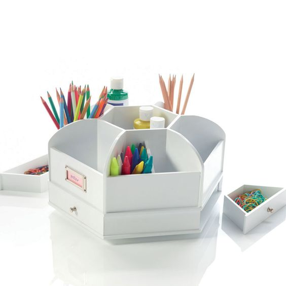 Spinning desk organiser favorite office supplies - Spinning desk organizer ...