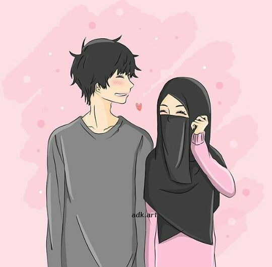 Hd Wallpaper Gambar Kartun Muslimah Sweet Couple - DOKUMEN ...