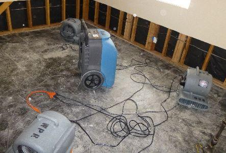 Room being restored