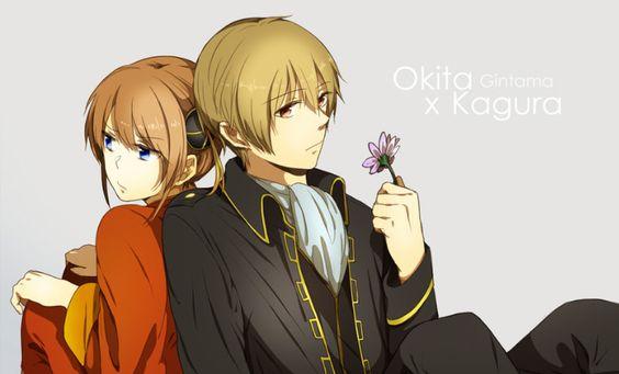 Okikagu | Okita x Kagura from Gintama